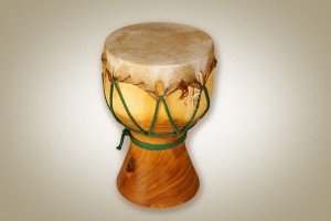 Wooden drum, big